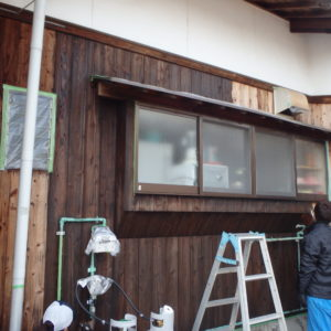 板壁塗装を中津市でのサムネイル